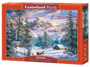 Puzzle Castorland  1000 dílků - Zima v horách  104680