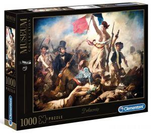 Puzzle Clementoni 1000 dílků - E.Delacroix -  Svoboda vede lid na barikády   39549