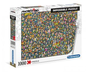 Puzzle Clementoni 1000 dílků - Nekoneční  Mordillo  39550