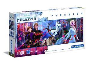 Puzzle Clementoni 1000 dílků  panorama - Frozen II   39544