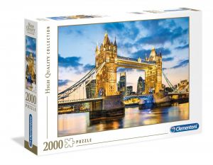 Puzzle Clementoni 2000 dílků - Tower Bridge - Londýn 32563