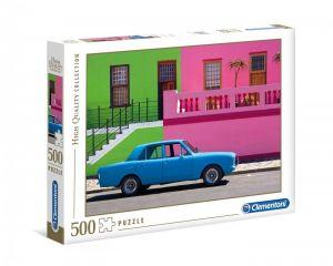 Puzzle Clementoni 500 dílků  - Modré auto  35076