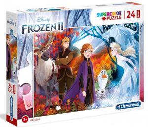 Puzzle Clementoni  MAXI  - 24 dílků  - Frozen  2  - Ledové království  28510