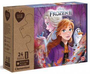Puzzle Clementoni  MAXI  - 24 dílků  - Frozen II  - 20260