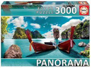 Puzzle EDUCA 3000 dílků panorama - Phuket - Thajsko 18581