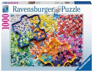 Puzzle Ravensburger 1000 dílků - Barvy puzzle  152742