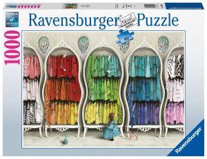 puzzle Ravensburger 1000 dílků - Fantastické skříně  149964