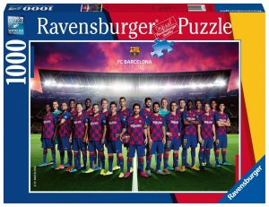 Puzzle Ravensburger 1000 dílků - FC Barcelona 199419