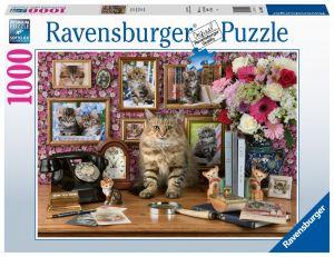 puzzle Ravensburger 1000 dílků - Moje kočka  159949
