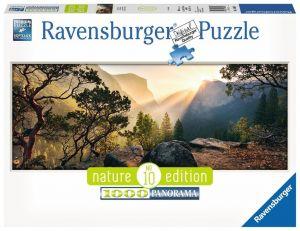 Puzzle Ravensburger 1000 dílků panorama -  Yosemite 150830