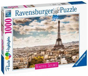 puzzle Ravensburger 1000 dílků - Paříž 140879