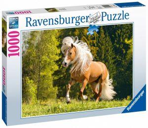 puzzle Ravensburger 1000 dílků - Šťastný kůň 150090