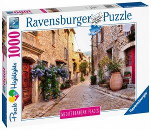puzzle Ravensburger 1000 dílků - Středomořská Francie  149759