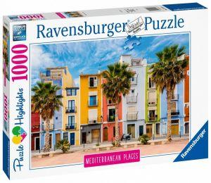 puzzle Ravensburger 1000 dílků - Středomořské Španělsko 149773