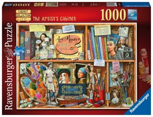puzzle Ravensburger 1000 dílků - Umělcův ateliér   149971