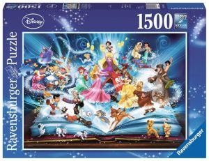 Puzzle Ravensburger  1500 dílků - Pohádky  Disney 163182