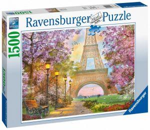 puzzle Ravensburger 1500 dílků  Zamilovaná Paříž  160006