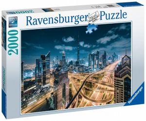 puzzle Ravensburger  2000 dílků  Dubaj v noci  150175