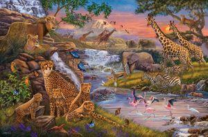 puzzle Ravensburger  3000 dílků -  Království zvířat  164653