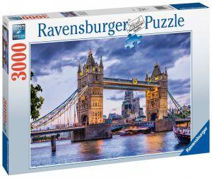 puzzle Ravensburger  3000 dílků -  Tower Bridge , Londýn  160174