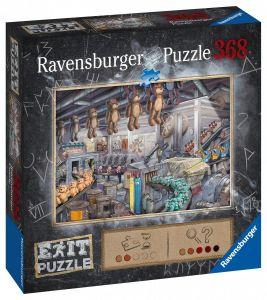 puzzle Ravensburger 368 dílků - Exit - Továrna na hračky  164844