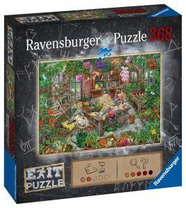 puzzle Ravensburger 368 dílků - Exit - Ve skleníku   164837