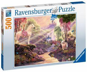 puzzle Ravensburger  500 dílků -  Kouzelná řeka  150359