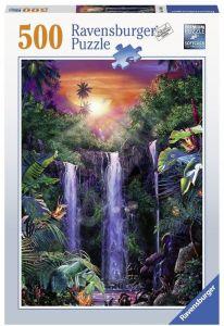 puzzle Ravensburger  500 dílků - Magický vodopád  148400
