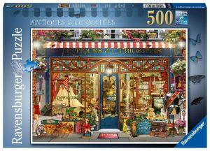 puzzle Ravensburger  500 dílků -  Obchod s antikou 164073