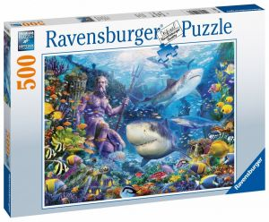 puzzle Ravensburger  500 dílků -  Vládce oceánu  150397