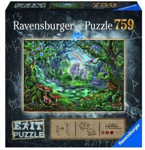 puzzle Ravensburger 759 dílků - Exit - Magický les  150304