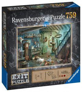 puzzle Ravensburger 759 dílků - Exit - Magický sklep  150298