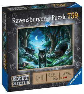 puzzle Ravensburger 759 dílků - Exit - Smečka vlků 150281