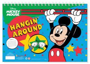 Set omalovánek + nálepek + skicák  -  Mickey Mouse B