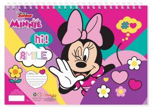 Set omalovánek + nálepek + skicák  -  Minnnie  Mouse B