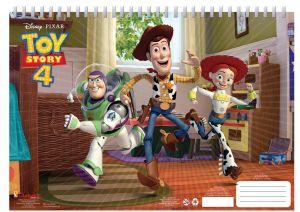 Set omalovánek + nálepek + skicák  -  Toy Story 4