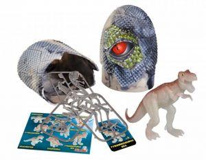 Simba - Figurka dinosaura ve vajíčku - svítící ve tmě - Tyranosaurus  Rex