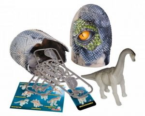 Simba - Figurka dinosaura ve vajíčku - svítící ve tmě - Brachiosaurus