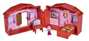 Simba - Máša a medvěd - mini domeček s figurkou Máši