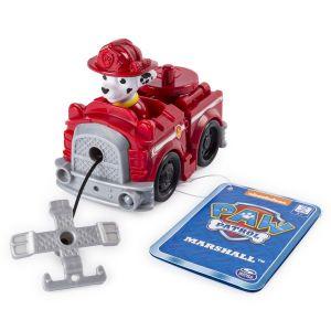 Spin Master Paw Patrol Malá vozidla s figurkou -  Marshal s hasičským  s vozem