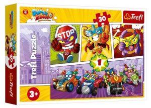 Trefl puzzle  30 dílků  - Super Zings   18271