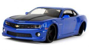 auto Maisto  1:24 Design -  Chevrolet Camaro SS - modrý