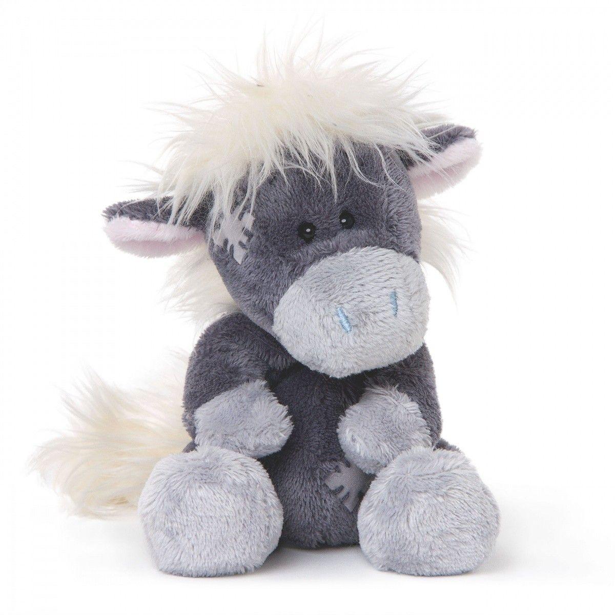 CARTE BLANCHE - My blue nose - Shetlandský poník 10 cm plyšový