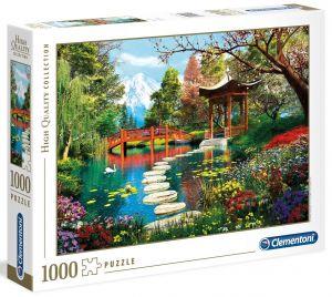 Clementoni Puzzle 1000 dílků  Zahrada Fuji    39513