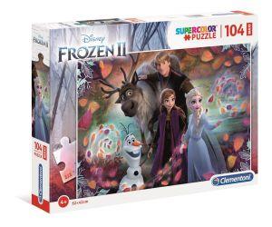 Clementoni puzzle 104 dílků MAXI - Frozen  II  23738