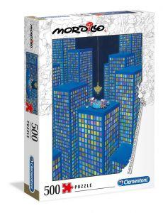 Clementoni puzzle 500 dílků  Mordillo - Večeře na věžáku  35077