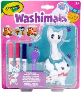 Crayola Washimals Mini sada  - Kočky