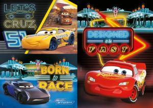 Dětské puzzle Clementoni  - 3 x 48 dílků  -Cars 25254
