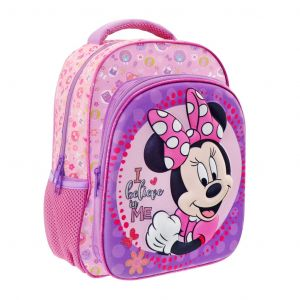 Diakakis -  batoh  na záda 27 x 31 x 10  Mickey s 3D povrchem Minnie