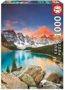 EDUCA Puzzle 1000 dílků -  Jezero Moraine Kanada  17739
